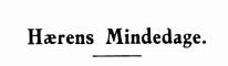 Hærens Mindedage 1944