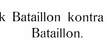 Dansk Bataillon kontra fransk Bataillon