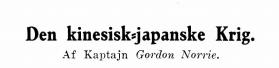 Den kinesisk-japanske Krig IV