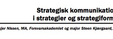 Strategisk kommunikations rolle i strategier og strategiformulering
