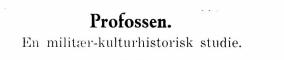 Profossen