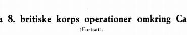 Fra 8. britiske korps operationer omkring Caen (fortsættes)