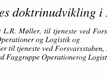 Værnsfælles doktrinudvikling i Danmark
