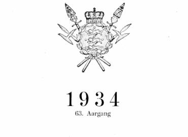 """Belgiens Grænseforsvar. (Efter """"le Temps"""" den 23/11-1933)"""