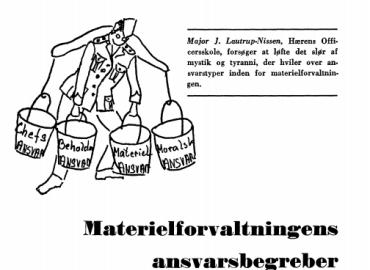 Materialforvaltningens ansvarsbegreber