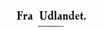 Fra Udlandet 1931 - 7