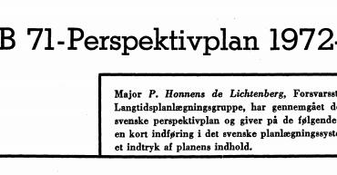 öB 71-Perspektivplan 1972-87