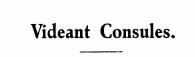 Videant Consules