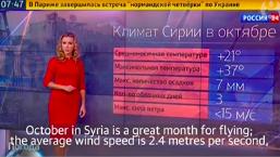 Russisk mediekrigsførelse omkring Syrien interventionen