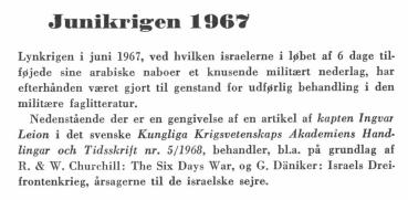 Junikrigen 1967