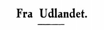 Fra Udlandet 1931 - 4
