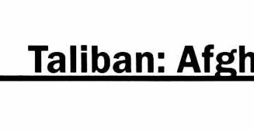 Taliban: Afghansk nationalisme