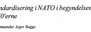 Standardisering i NATO i begyndelsen af 1970'erne