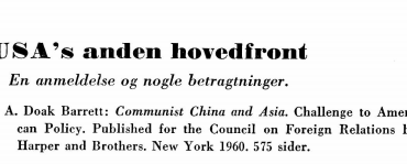 USA's anden hovedfront